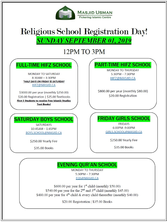 Religious School Registration Day.PNG